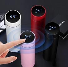 Digital Mug Smart Mug 24 hour Temperature Display Touch Control 500ml New - $35.00