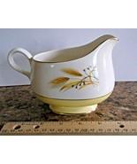 Goldcrest Alliance China Gold Trim Yellow Band Wheat Gravy Boat/Large Cr... - $14.84