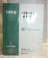 1998 Buick Park Avenue Service Manual - Volume 1 and 2 - $39.59