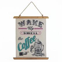 Accent Plus Coffee Perk Up Linen Wall Art - $29.49
