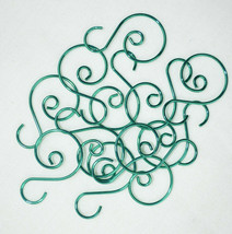 "AGO Miniature Small Christmas Tree Scroll Wire Ornament Hook 1.25"" 12pcs... - $6.88"