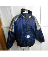 Vintage 90s Notre Dame Fighting Irish Mens Starter Jacket Pullover Puffe... - $49.49
