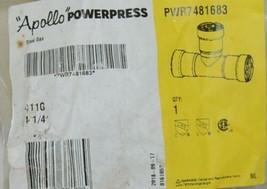 Apollo Powerpress Gas Carbon Steel Press Tee PWR7481683 image 2