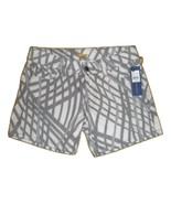 NWT Rebecca Minkoff Christty Jean Grey Stripe Shorts Size 0 MSRP:$168 - $59.39
