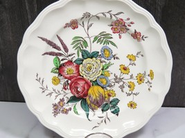 "Spode Marlborough Sprays Floral Dinner Plate 10 5/8"" - $37.62"