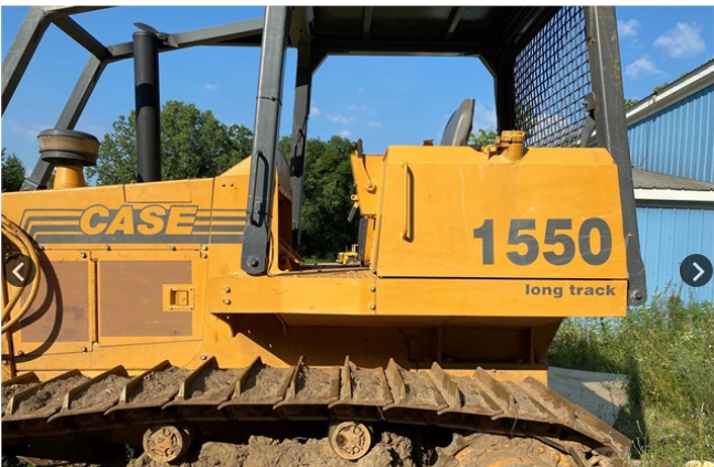 1992 CASE 1550 LT For Sale In Three Rivers, Michigan 49093