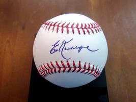 Ed Kranepool 1969 Wsc New York Mets Signed Auto Oml Baseball Mvsm Gem Authentic - $59.39