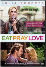 Eat Pray Love, DVD Dual Versions - $5.95