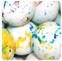 "KABOOM White Speckled 1"" Jawbreakers 16 LBs Sour Candy Centers - $79.99"
