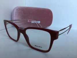 New Miu Miu VMU02P USL-101 51mm Red Cats Eye Women's Eyeglasses Frame - $159.99