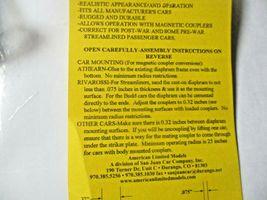 American Limited # 9006 Streamline Passenger Car Gray Diaphragms HO-Scale image 6