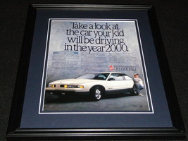 1988 Oldsmobile Cutlass Supreme Framed 11x14 ORIGINAL Advertisement - $34.64