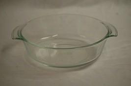 Vintage Anchor Hocking 1-1/2 Quart Clear Glass Mixing Bowl w Tab Handles... - $29.69