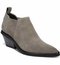 Via Spiga Women Water Resistant Low Cut Booties Farly Size US 5M Grey Suede - $96.16