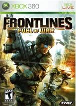 Frontlines - Fuel of War, Xbox 360 Game, 2008 - $9.99