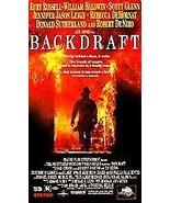 MCA Backdraft VHS Movie  * Plastic * - $4.34