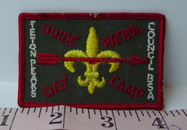 Guide Patrol Day Camp Patch 1970's Teton Peaks Council Vintage - $7.43