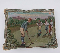 Life is a Game but Golf is Serious Needlepoint Throw Pillow Golf Humor  - $257,24 MXN