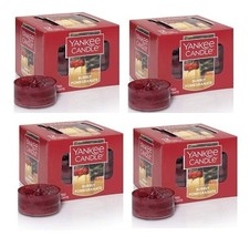 Yankee Candle Bubbly Pomegranate 12 Pack Scented Tea Lights - x4 - $39.99