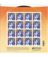 JANICE JOPLIN - (USPS) SOUVENIR BOOK FOREVER STAMPS 16 - $14.95