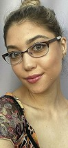 New TORY BURCH TY 4710 4131 49mm Bronze Women's Eyeglasses Frame - $89.99