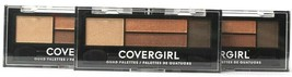 3 Count Cover Girl Quad Palettes # 709 Go For The Golds Eye Shadow 1.8g ... - $24.99