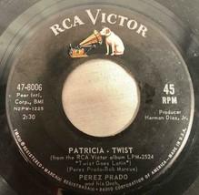 1962 45RPM RECORD PEREZ PRADO & HIS ORCH PATRICIA-TWIST RCA VICTOR RECORDS - £20.72 GBP