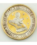 HARRAH'S, RENO NV, FORTY DOLLAR GAMING TOKEN .999 FINE SILVER COIN - $155.07