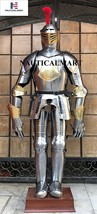 Nauitcalmart 15th Century Spanish Brass Etched Wearable Halloween Suit o... - $1,299.00