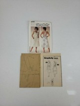Simplicity Pattern 6933 Easy To Sew Sundress In 2 Lengths Sz 10 12 14 UN... - $14.99