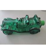 VTG Blue Avon Vintage Race Car Decanter Empty JCH028 - $3.95