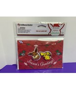 2019 Pokemon Holiday Pin and Card Set Pikachu Eevee Christmas NEW SEALED - $39.59
