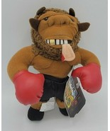 1997 InFamous Meanies Mike Tyson Bison Stuffed Toy w/ Original Tag Idea ... - $9.89
