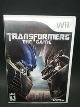TRANSFORMERS THE GAME Wii Video Game - $5.99