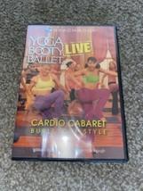 YOGA BOOTY BALLET Live CARDIO CABARET Burlesque Style DANCE WORKOUT Vide... - $37.76