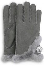 UGG Gloves Swarovski Bailey Bling Gray Black Sm Med Lg NEW - $168.00