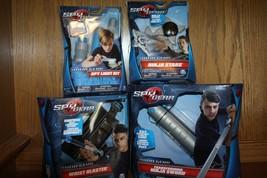Spy Gear Ninja Gear Wrist Blaster Ninja Stars Transforming Sword Light K... - $67.99