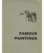 FAMOUS PAINTINGS AN INTRODUCTION TO ART 1962 FULL COLOR PIX Hardcover OO... - $9.99