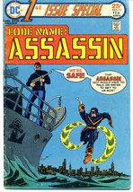 CODE NAME: ASSASSIN 1ST ISSUE SPECIAL VOL 2, No. 11, February, 1976 Comi... - $5.20