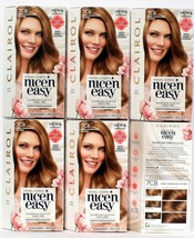 6 Clairol New & Improved Nice'N Easy 7CB Dark Champagne Blonde Permanent... - $48.99