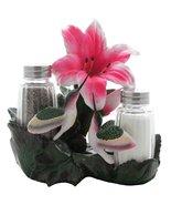 Hummingbirds Glass Salt and Pepper Shaker Set Kitchen Decor with Decorat... - $16.99