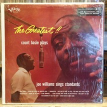 [SOUL/JAZZ]~EXC LP~COUNT BASIE~JOE WILLIAMS~The Greatest!!~[CAPITOL RECO... - $3.96