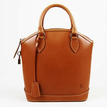 "Louis Vuitton Brown Leather ""Nomade Lockit"" Bag - $1,900.00"