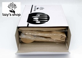 Disposable Wooden Cutlery Set - Izzy's Shop 100% Natural, Eco-Friendly, ... - $21.32