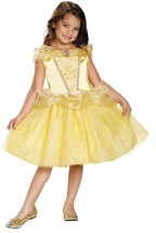"Classic Belle Costume from New ""Beauty & the Beast"" Movie Officially Lic... - $29.95"