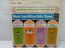 Boston Pops Arthur Fiedler Million Dollar Shows LP Record Album Vinyl - $5.93