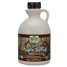 Maple Syrup Organic, Grade B 32 oz by Now Foods - $20.58
