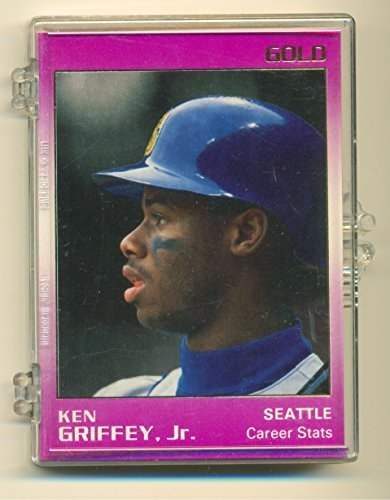 1991 Star Ken Griffey Jr. Gold Set 9 Card Set Limited to 1500 - Serial No: 1450
