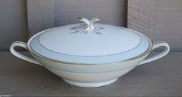 Vntage Noritake China Round Covered Vegetable Bowl Vanessa Pattern 5541 ... - $29.69