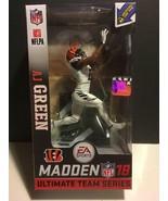 AJ Green : McFarlane Toys NFL Madden 18 Ultimate Team Series 1  BENGALS - $24.65
